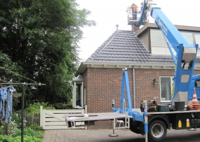inspectie schoorsteen